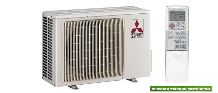 servicio tecnico aire acondicionado mitsubishi